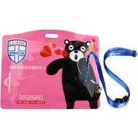Блокатор вирусов Ecom Air Mask ES-010 Kumamon (розовый)